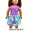 Unicorn-Top-amp-Skirt-18-034-Doll-Clothes-fits-American-Girl-dolls thumbnail 14