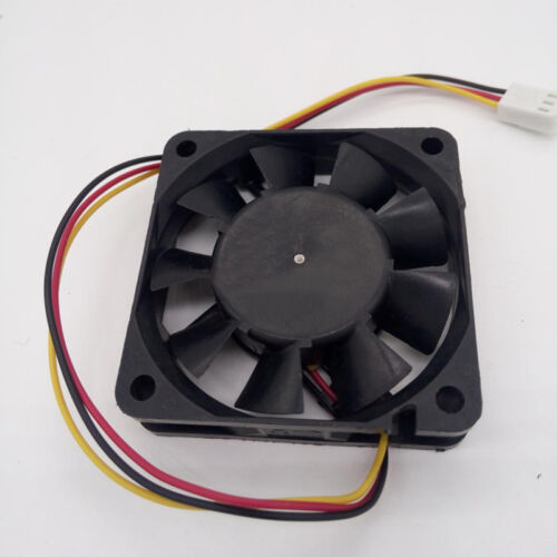 Brushless DC Fan 60mm 60mm x 15mm 12V 6015 3-Pin Black Connector Cooling B