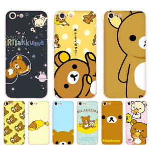 online store 0282d 20584 Details about Cute rilakkuma Painted Style Design Phone Case for Iphone 8 7  6 6S Plus X 5