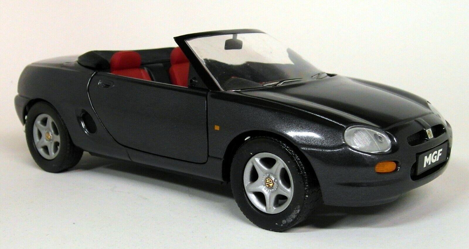 Corgi 1  18 skala - 95105 MG MGF Roadster Charkole grå Plinth tärningskast modellllerlerl Bil
