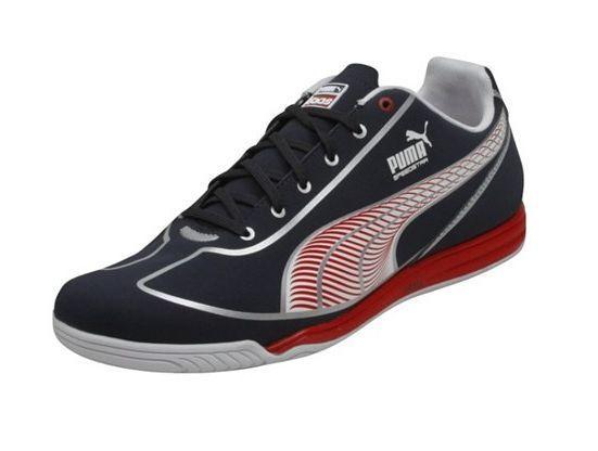 Puma / Faas Speed Star Casual / Puma training soccer zapatos Brand Nuevo Navy / rojo / plata e49ae8