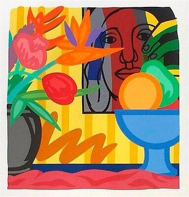 Tom Wesselmann- Bouquet With Leger