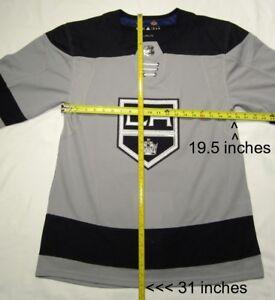 LOS-ANGELES-KINGS-size-44-Extra-Small-Alternate-3rd-ADIDAS-NHL-HOCKEY-JERSEY