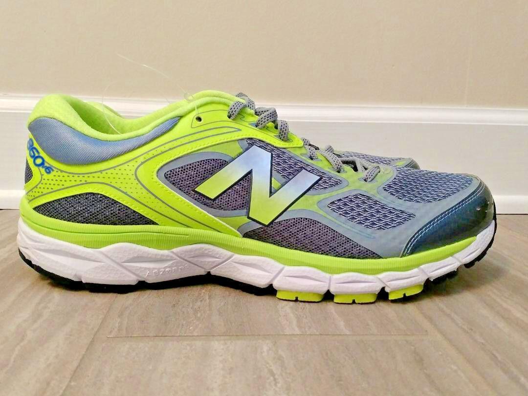 New balance hombre para correr 860 v6 gris verde Amarillo M860GY6 10EE 9D 10.5D