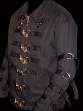 Jacket w/snap hooks D-rings Goth restraint Gothic 2XL