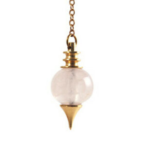 Pendule-Spheroton-Quartz-rose-20g