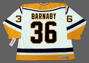 bcee135c9 Image is loading MATTHEW-BARNABY -Pittsburgh-Penguins-1999-CCM-Throwback-Home-