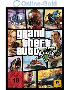 Grand Theft Auto V 5 Key - GTA 5 - PC Spiel Download Game Code [DE][EU][PC][NEU]