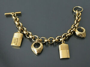 Luxus Modeschmuck Armband - BOUCHERON – Jaipur Vintage 90er – Vergoldet