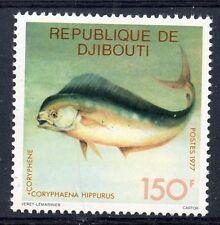 TIMBRE REPUBLIQUE DE DJIBOUTI N° 475 ** FAUNE MARINE CORYPHENE