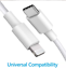 miniature 6 - Fast PD Charger 20W USB-C Power Adapter + Cable For iPhone 12 Pro Max, 2 Units!!