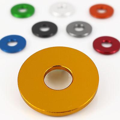 Begeistert Unterlegscheibe Alu M8 Din 9021 Blau Gold Grau Grün Rot Schwarz Silber Orange Strukturelle Behinderungen