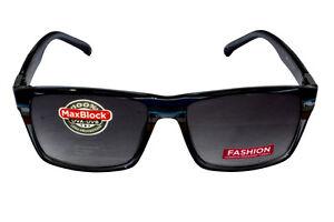 FOSTER-GRANT-FG43-Occhiali-da-sole-unisex-Shaded-Blu-montatura-in-plastica-lenti