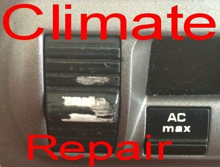 PORSCHE BOXSTER 987 997 HEATER  CLIMATE SWITCH REPAIR