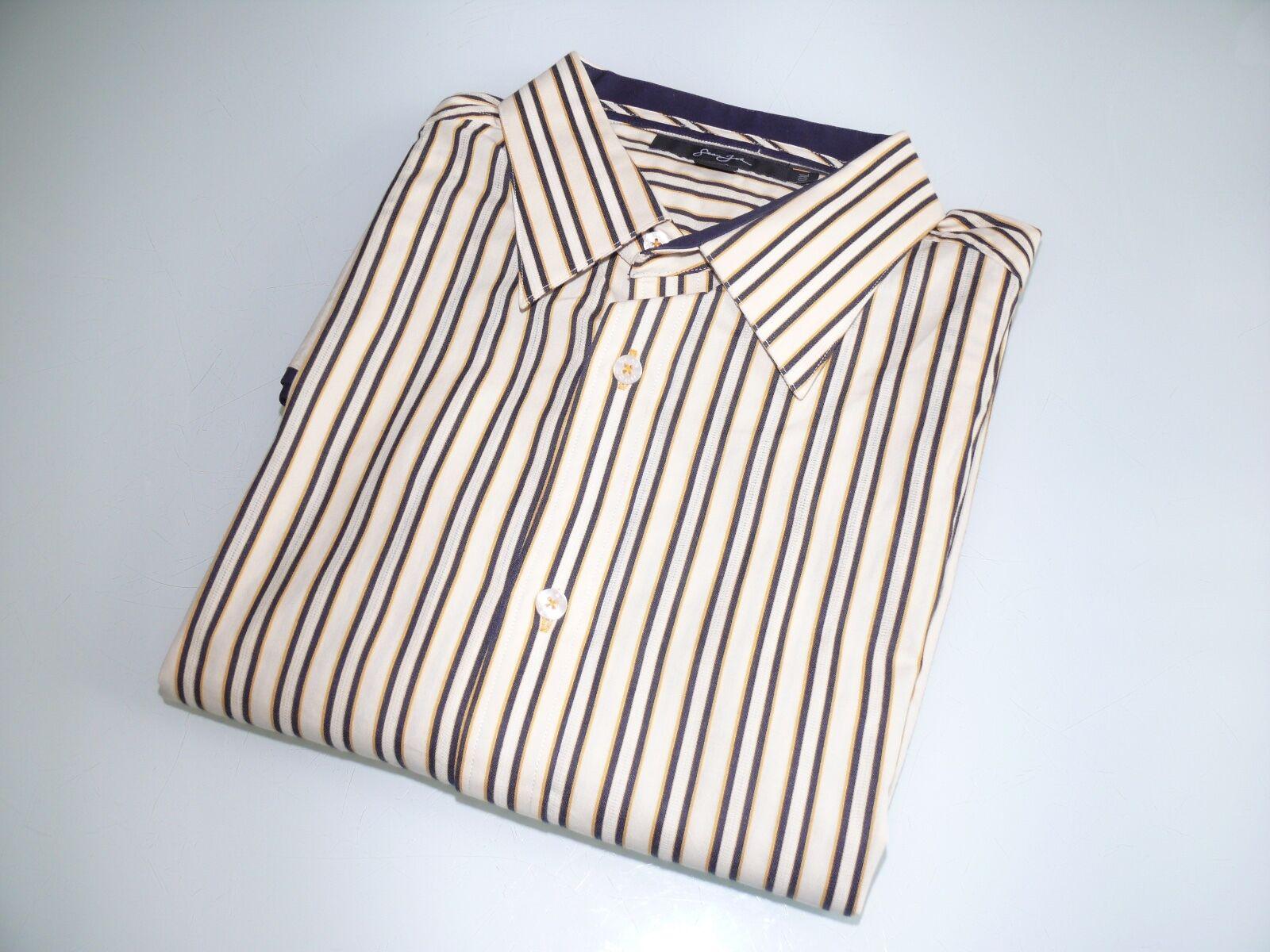 Sean John Multi-color Stripes Button Down Shirt Sport , Size XXXL Sale
