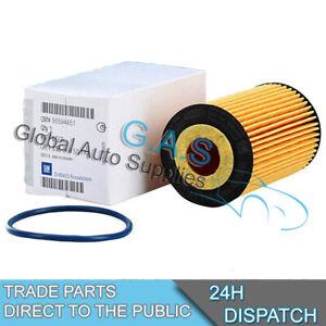 Genuine-GM-OPEL-Filtro-De-Aceite-Para-Opel-Zafira-B-1-6-1-8-Modelos-de-gasolina