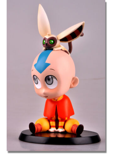 Avatar Aang PVC Figure Statue Chibi Avatar The Last Airbender Super Deformed