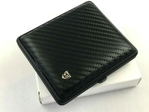 vom-Hofe-Zigaretten-Etui-18er-Carbon-Black-Echtleder-Made-in-Germany