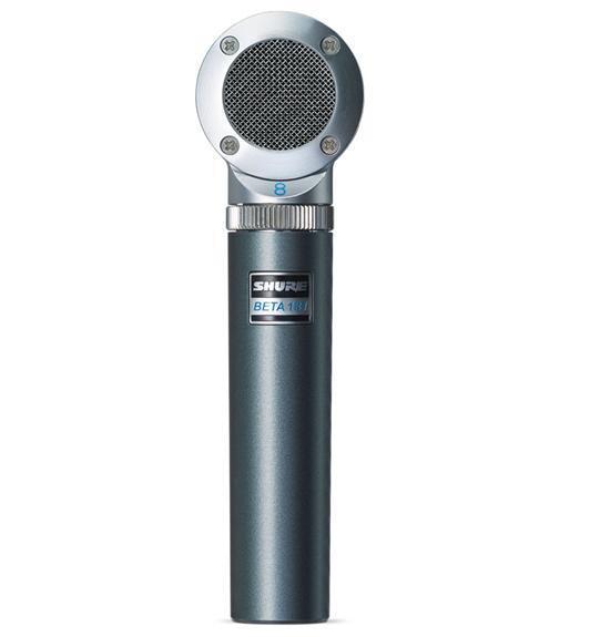 Shure Beta 181 BI Side-Address Instrument Microphone