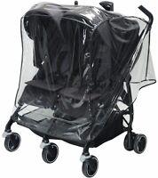 Maxi Cosi Rain Shield For Dana For 2 Double Stroller - Free Shipping