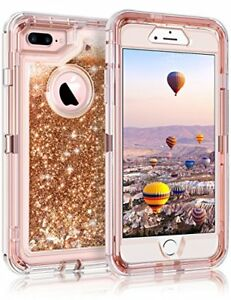 8 plus glitter case iphone