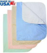 Washable Bed Pads / Reusable Incontinence Underpads 24x36 - 4 PACK