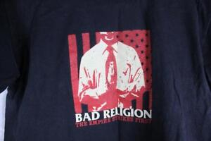BAD-RELIGION-Vintage-THE-EMPIRE-STRIKES-FIRST-Punk-T-SHIRT-NOFX-SNUFF-SKATE-S