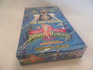 Mighty-Morphin-Power-Rangers-Hobby-Edition-New-Season-36-Unopened-Card-Box-NS07