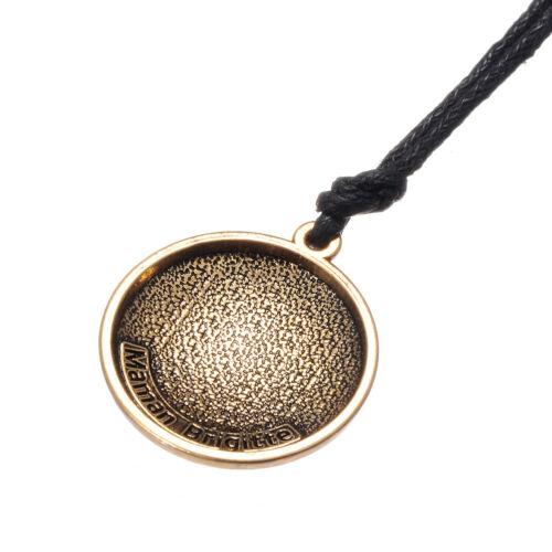 Ancient Pagan Maman Brigitte Voodoo Veve Haitian Vodou Pendant Amulet Necklace