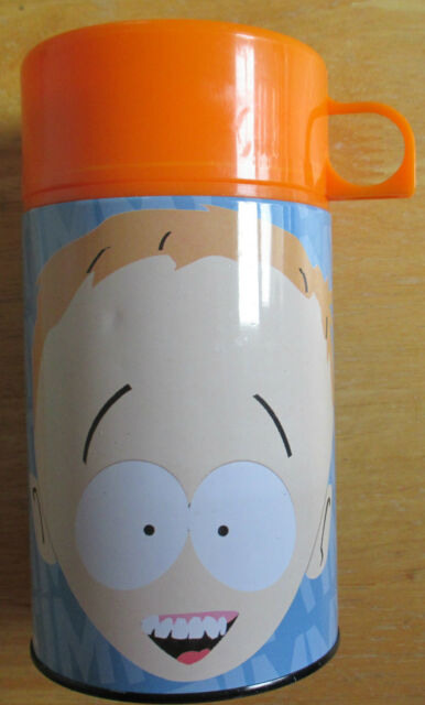 South Park TIMMY Metal Lunchbox Thermos Comedy Central 2001 Meca