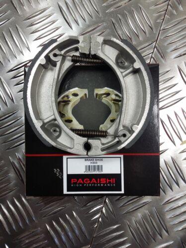 PAGAISHI REAR BRAKE SHOES Peugeot V-Clic 50 4T  2011-2014 C//W SPRINGS
