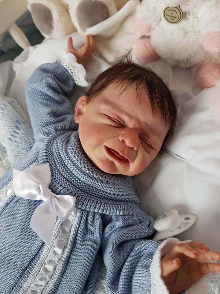 Bebe rebornléo issue  du kit leo ulrike gtutti no 60 1000 nurserie d'alexerine  miglior prezzo