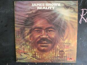 JAMES BROWN REALITY VINYL LP ALBUM POLYDOR RECORD 1974 2391164 FUNK SOUL