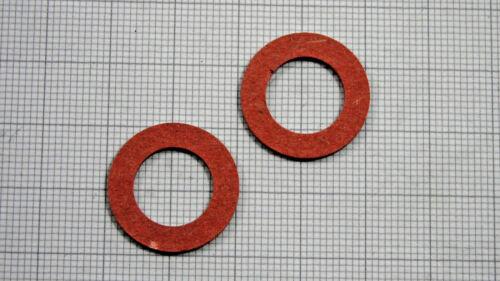 gasket Fiberscheibe 12,4x20x1,6 für unseren Benzinhahn M22x1 Dichtung 2 Stück
