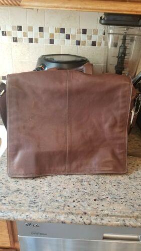 Coach Leatherware Messenger Bag Briefcase Black Le