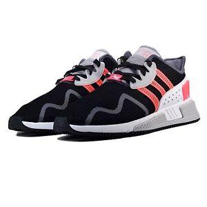premium selection 6c15b 8bc84 Image is loading Adidas-Mens-EQT-Cushion-ADV-Shoes-Black-Turbo-