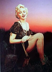 MARILYN-MONROE-Vintage-HEBREW-Book-FRONT-COVER-Photo-ISRAEL-Jewish-S-Japrisot