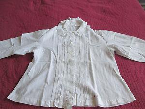 Trés Belle Chemise Ancienne Brodée Cxtrfxij-07225402-556249093