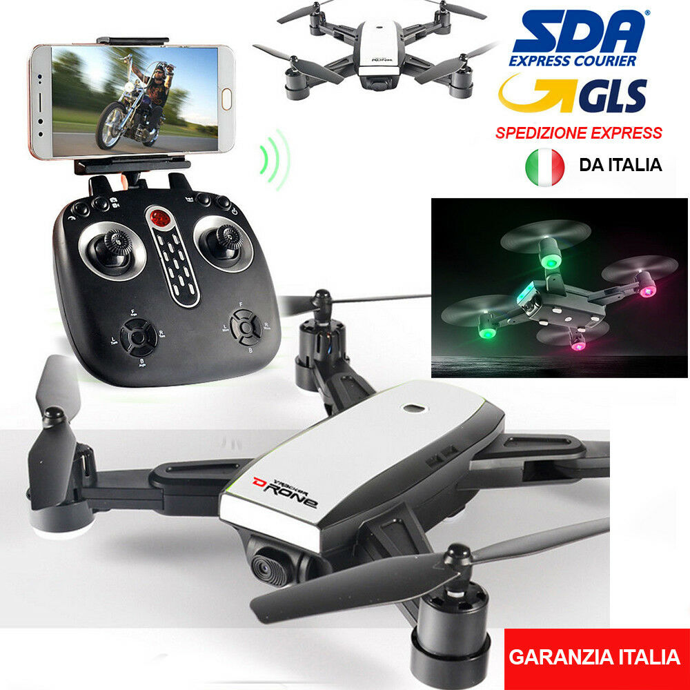DRONE QUADRICOTTERO CON CAMERA WIFI DUAL GPS FPV  HEADLESS MODE LH-X28GWF 2.4GHZ