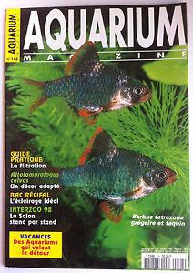 Aquarium Magazine N°148 - Guide Pratique; La Filtration/ L'éclairage Idéal/ Salo Gagner Une Grande Admiration Et On Fait Largement Confiance à La Maison Et à L'éTranger.