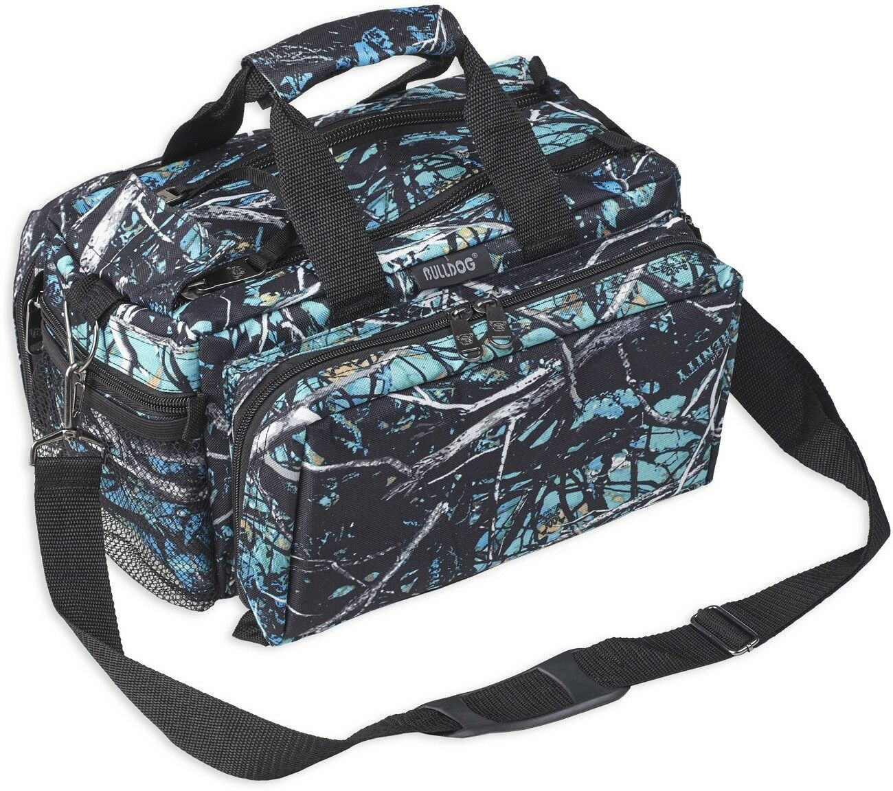 Muddy Girl Serenity Deluxe Range Bag, Nylon Camouflage Bulldog Cases BD910SRN