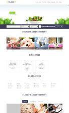 Premium Classified Ads Website