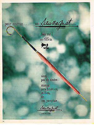 Publicite Advertising 044 1962 Sauvagnat Parapluie Sophisticated Technologies Other Breweriana