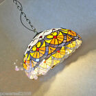 Rural 2*Lights Colorful+Beads Glass/Coloured Glaze/Iron Droplight/Hanging Lamp!