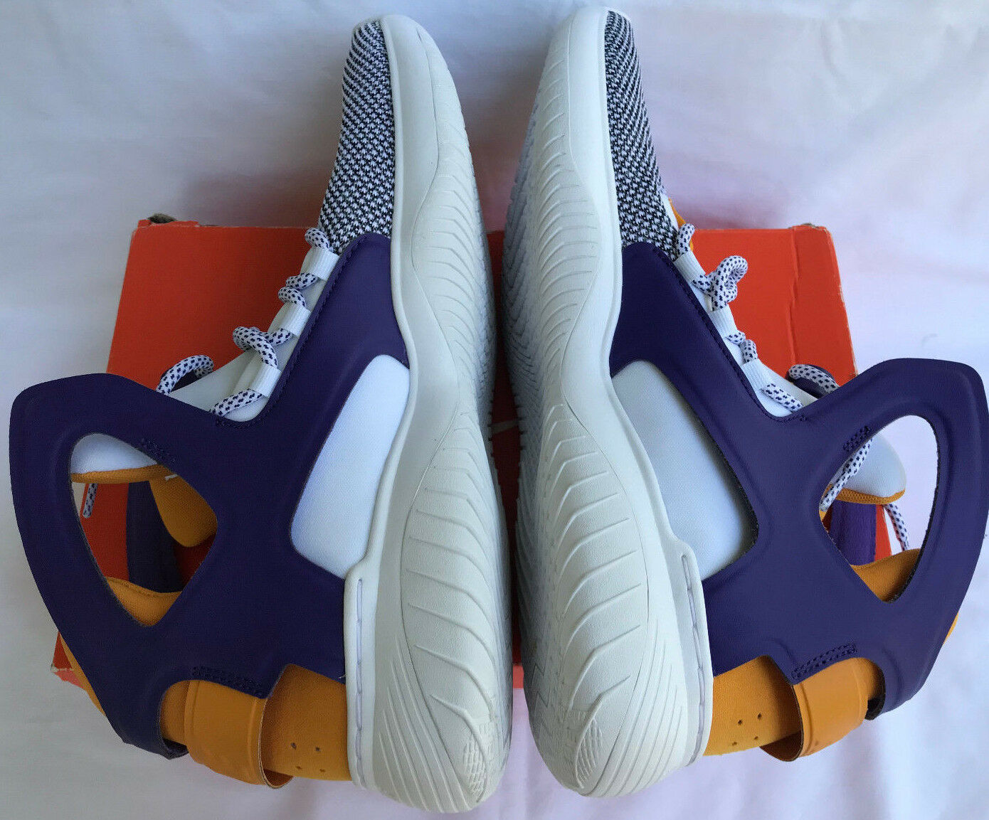 Nike Air Flight Huarache Ultra 880856-102 Gold Shoes Lakers Basketball Shoes Gold Men's 11 63adc3