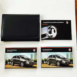 vauxhall antara owners handbook manual pack new genuine 2011 onwards rh ebay co uk vauxhall antara service manual vauxhall antara owners manual 2012