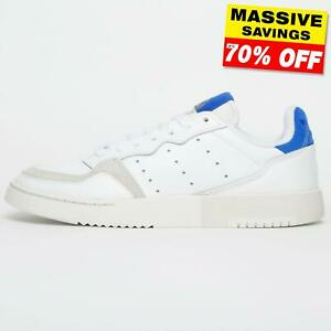 Adidas Originals Supercourt Mens Classic Leather Trainers B Grade From £29.99