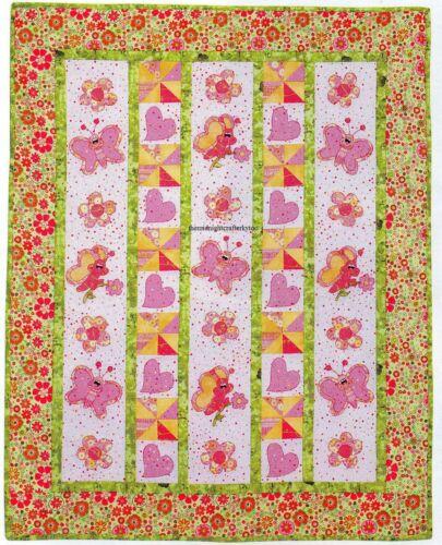 Love Bugs Quilt Pattern Pieced//Applique HP