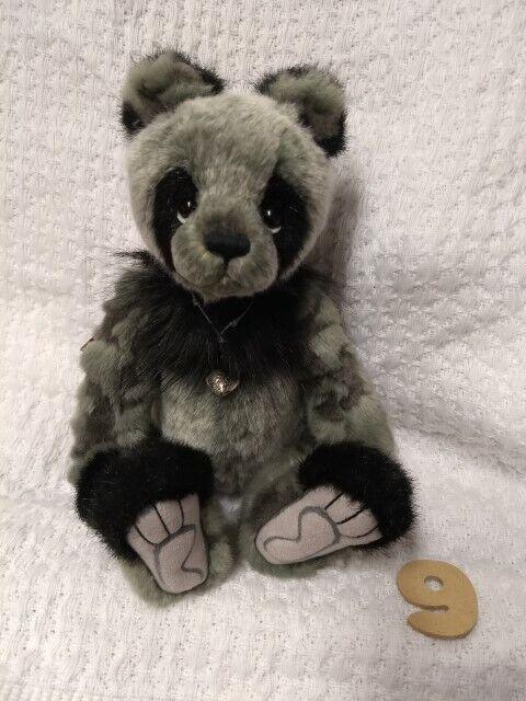 Denny by Charlie Bears Bears Bears - Cute Bear BNWT +Free Bag -Official Stockist - Photo  9 97ad9d