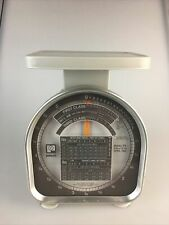 Vtg Pelouze Model Y5 Postal Scale 1988 5 Lb X 12 Oz First Class Amp Priority Mail